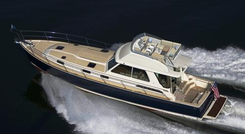 Sabre 54 Fly Bridge Image Gallery. Exterior Images | Interior Images
