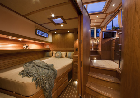 interior images of the sabre 40 just in sabre yachts