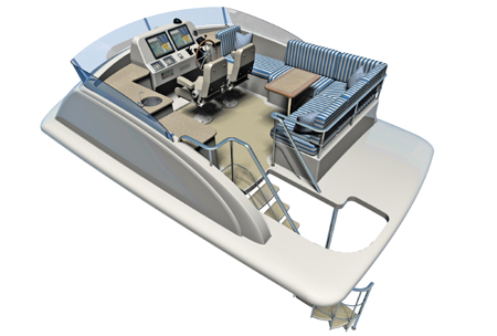 Topic, Yacht bridge design charming