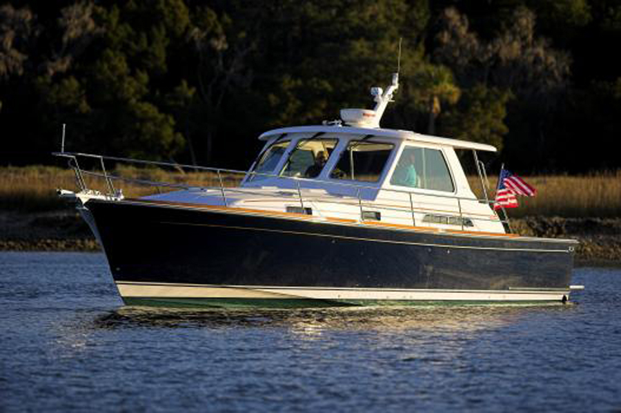Interior And Exterior Images Of The Sabre 42 Hard Top