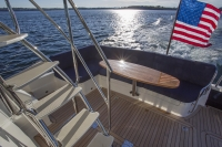 Sabre 48 Flybridge off Portland ME