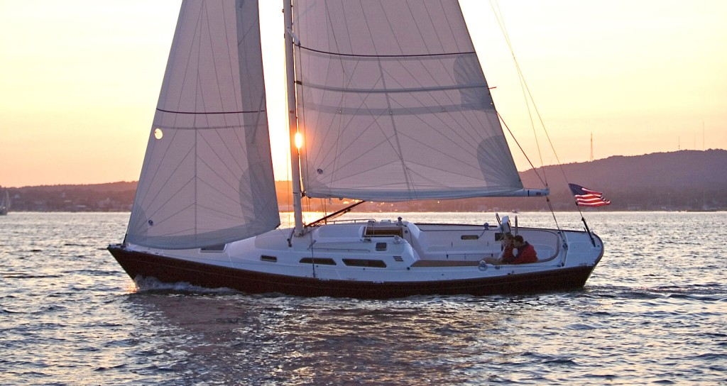 Images Of The Sabre Spirit Sailing Yacht Crafted In Maine