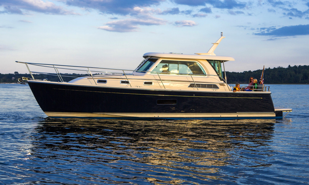 Overview Of The Sabre 38 Salon Express Sabre Yachts