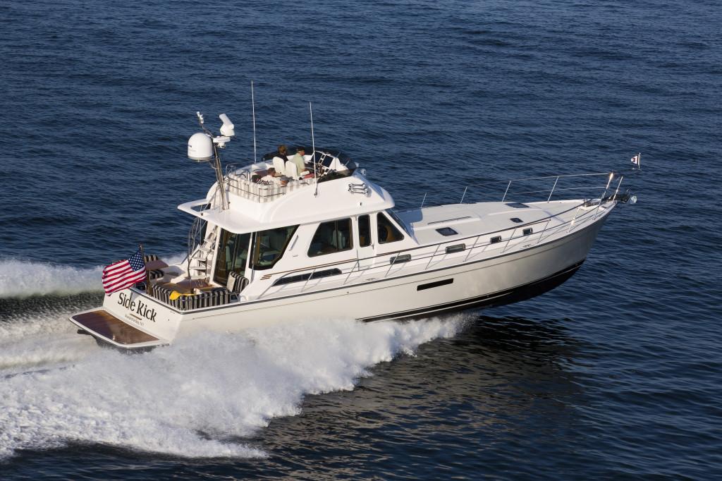 Sabre 54 Fly Bridge Sedan Motor Yacht Hand Crafted In